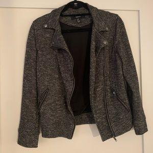 Forever 21 Knit Moto Jacket